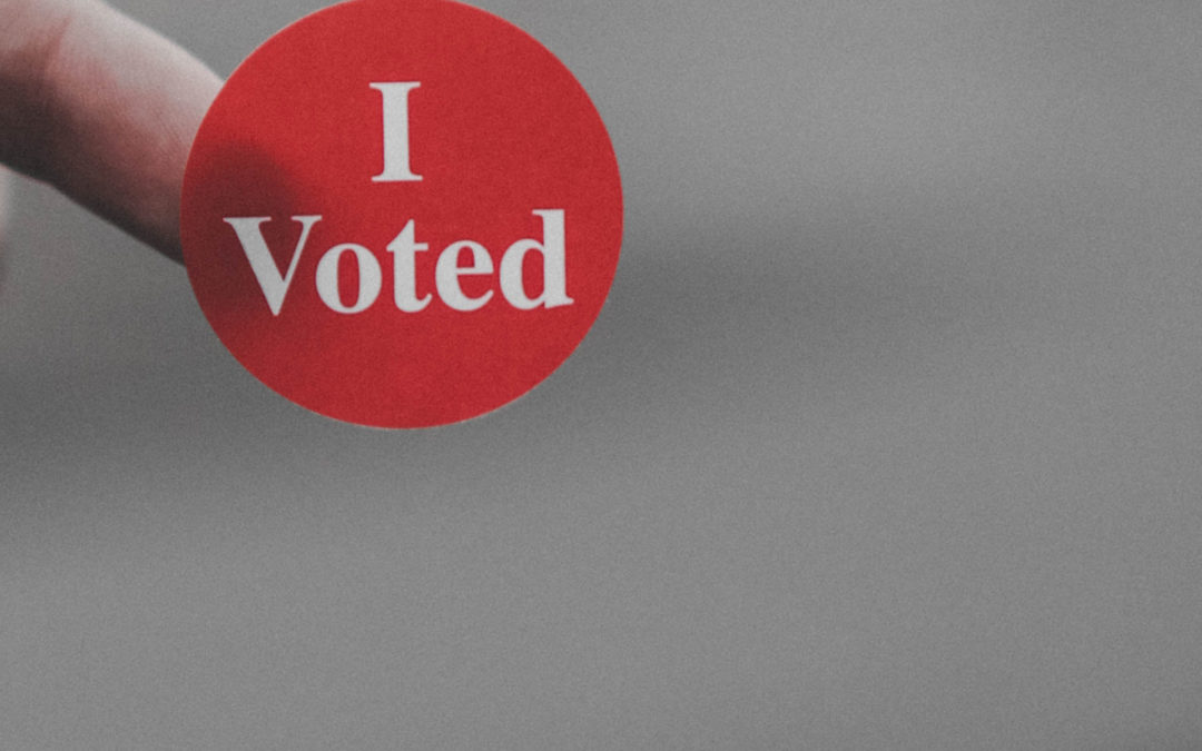 Are you registered to vote? Check your polling place here!